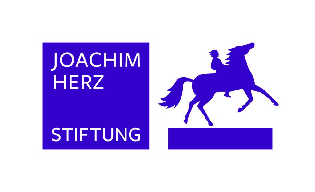 Logo unseres Förderers Joachim Herz Stiftung